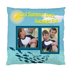 Summer By Joely   Standard Cushion Case (two Sides)   0n8vhpsopm34   Www Artscow Com Front