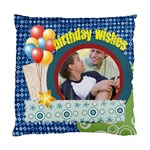 birthday wishe - Standard Cushion Case (Two Sides)