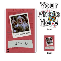 Febbre 1 By Antonio   Multi Purpose Cards (rectangle)   64jvt6zra58h   Www Artscow Com Front 14