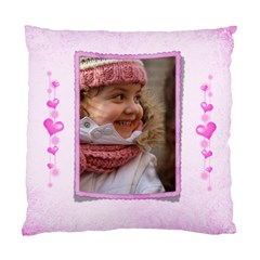 All Heart Cushion Case (2 Sided) By Deborah   Standard Cushion Case (two Sides)   Y6mqmcikwoeu   Www Artscow Com Back