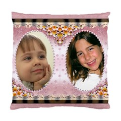 Pretty As A Picture (2 Sided) Cushion Case By Deborah   Standard Cushion Case (two Sides)   Hwuwskb4147w   Www Artscow Com Back