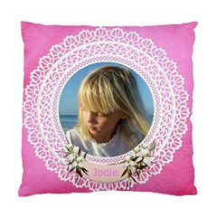 Lace (2 Sided) Cushion Case By Deborah   Standard Cushion Case (two Sides)   Rhccdgqebjgp   Www Artscow Com Front