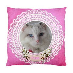 Lace (2 Sided) Cushion Case By Deborah   Standard Cushion Case (two Sides)   Rhccdgqebjgp   Www Artscow Com Back