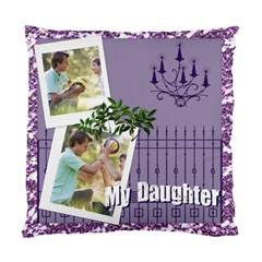 My Daughter By Joely   Standard Cushion Case (two Sides)   Yn197dlatybd   Www Artscow Com Back