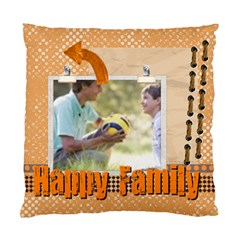 Happy Family By Joely   Standard Cushion Case (two Sides)   G18yp1u4p8b3   Www Artscow Com Front