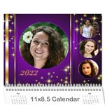 Celebration Calendar 2016 (any Year) - Wall Calendar 11  x 8.5  (12-Months)