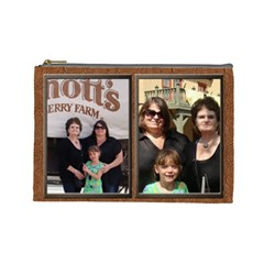 2011 4 Knotts Cosmetic Bag Final By Barbara   Cosmetic Bag (large)   Cf31q1lg54k9   Www Artscow Com Front