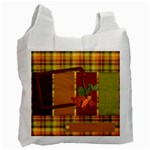 Autumns Glory Trick or Treat Bag 1 - Recycle Bag (One Side)