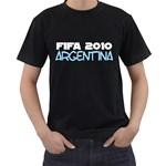 Fifa 2010 Argentina ( Black T-Shirt )