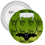 Not So Scary Halloween Button 2 - 3  Button