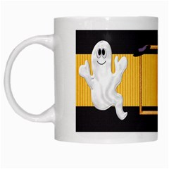 Not So Scary Halloween Mug 1 By Lisa Minor   White Mug   Ssdzzwe5fch1   Www Artscow Com Left