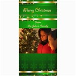 Merry Christmas 4x8 Photo card 3 - 4  x 8  Photo Cards