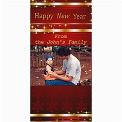 Happy New Year 4x8 Photo Card 3 By Deborah   4  X 8  Photo Cards   57p7p77w4glf   Www Artscow Com 8 x4 Photo Card - 5