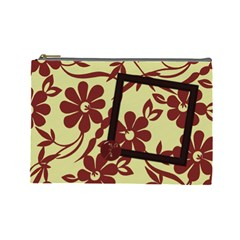Koko Large Cosmetic Bag 1 By Lisa Minor   Cosmetic Bag (large)   25hsnf557u3k   Www Artscow Com Front