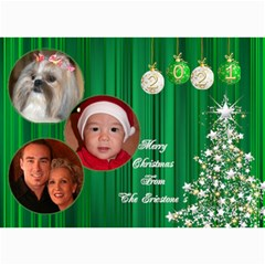 Christmas 2016 Photo Card 7x5 3 By Deborah   5  X 7  Photo Cards   A8s7llrimnor   Www Artscow Com 7 x5 Photo Card - 8