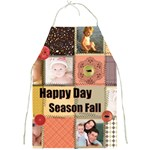 happy season fall - Full Print Apron