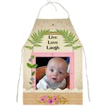 Live Love Laugh Apron - Full Print Apron