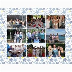Calendar Nana & Mom By Carrie Wardell   Wall Calendar 11  X 8 5  (12 Months)   74s1wnjmbafc   Www Artscow Com Month