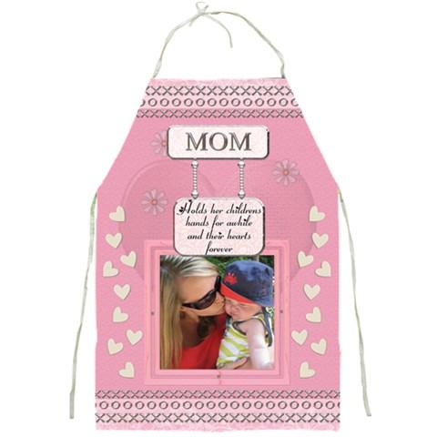 Mom s Apron By Lil    Full Print Apron   Fff4qx5cii7t   Www Artscow Com Front