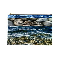 Vacation Bag By Patricia W   Cosmetic Bag (large)   27yudulkm59t   Www Artscow Com Front