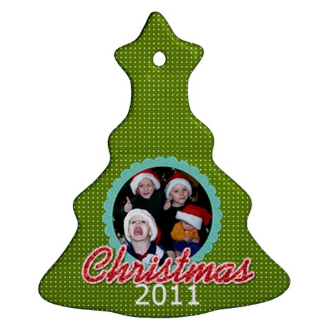 2011 Ornament 6 By Martha Meier   Ornament (christmas Tree)    Idmoi7s13hbb   Www Artscow Com Front