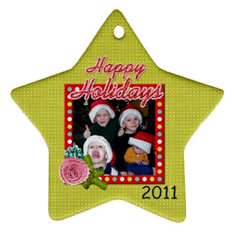 2011 Ornament 13 By Martha Meier   Ornament (star)   Af0yhlj9lid1   Www Artscow Com Front