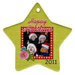2011 Ornament 13 - Ornament (Star)