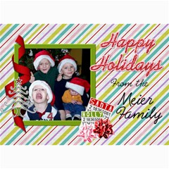 2011 Christmas Card 3 By Martha Meier   5  X 7  Photo Cards   W4ki1qtwpewv   Www Artscow Com 7 x5 Photo Card - 1