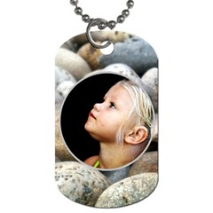 Summer Beach Dogtag By Patricia W   Dog Tag (two Sides)   1ujbe6d3e0n1   Www Artscow Com Front