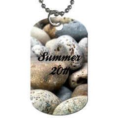 Summer Beach Dogtag By Patricia W   Dog Tag (two Sides)   1ujbe6d3e0n1   Www Artscow Com Back