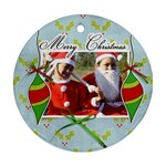 Ornament (Round) - Christmas7