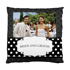 Wedding  By Joely   Standard Cushion Case (two Sides)   13p9mwejvioh   Www Artscow Com Back
