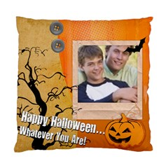Halloween By Joely   Standard Cushion Case (two Sides)   Nwowusxkxoig   Www Artscow Com Back