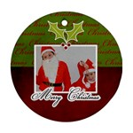 Ornament (Round) - Christmas10