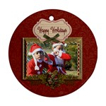 Ornament (Round) - Christmas11