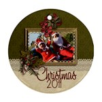 Ornament (Round) - Christmas13