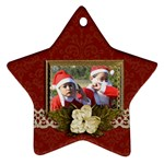 Ornament (Star): Christmas14