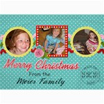 2011 Christmas Card 2B - 5  x 7  Photo Cards