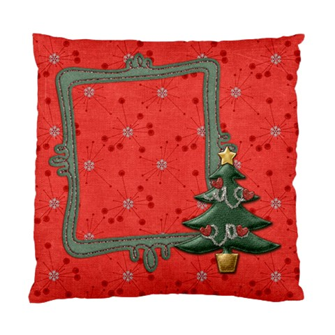 Christmas Cushion by shelly Front