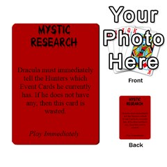 Fury Of Dracula Hunter Event Cards By Dana   Multi Purpose Cards (rectangle)   Yq11xcz9tf2l   Www Artscow Com Front 29