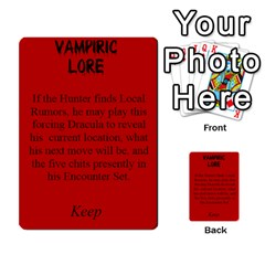Fury Of Dracula Hunter Event Cards By Dana   Multi Purpose Cards (rectangle)   Yq11xcz9tf2l   Www Artscow Com Front 32