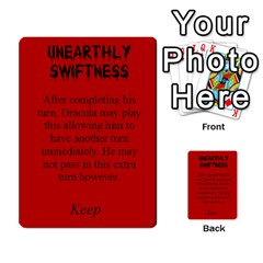 Fury Of Dracula Dracula Event Cards By Dana   Multi Purpose Cards (rectangle)   Goiysa2guvei   Www Artscow Com Front 6
