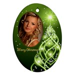 Christmas Oval Ornament 7 - Ornament (Oval)