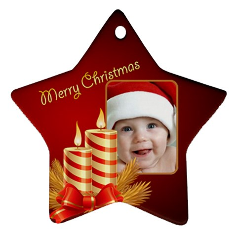 My Little Star Ornament By Deborah   Ornament (star)   Ij4g2yn1lg6i   Www Artscow Com Front