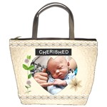 Cherished and Loved Bucket Bag