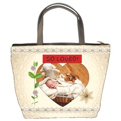Cherished And Loved Bucket Bag By Lil    Bucket Bag   6u21cou2i4go   Www Artscow Com Back