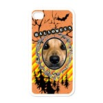 halloween - Apple iPhone 4 Case (White)