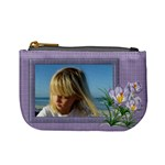 Shades of Violet Mini Coin Purse