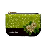 Mini Coin Purse: Green Surprise