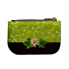 Mini Coin Purse: Green Surprise By Jennyl   Mini Coin Purse   C1hi5a601i96   Www Artscow Com Back